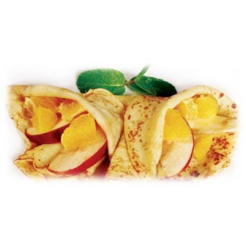 Блины с яблоком, 5 шт
