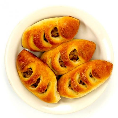 Пирожки с квашеной капустой, 5 шт