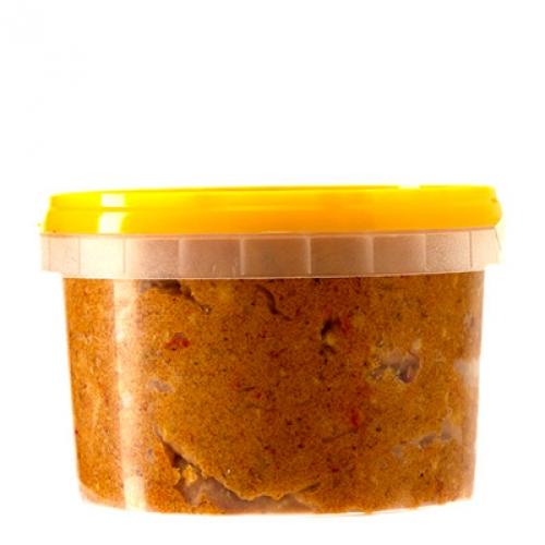 Сало крученое с чесноком и перцем, 1 кг