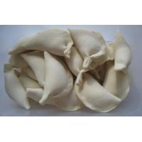 Вареники с белыми грибами и капустой
